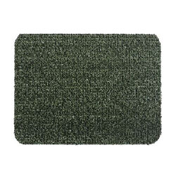 GrassWorx Clean Machine 24 in. L x 18 in. W Green Nonslip Door Mat