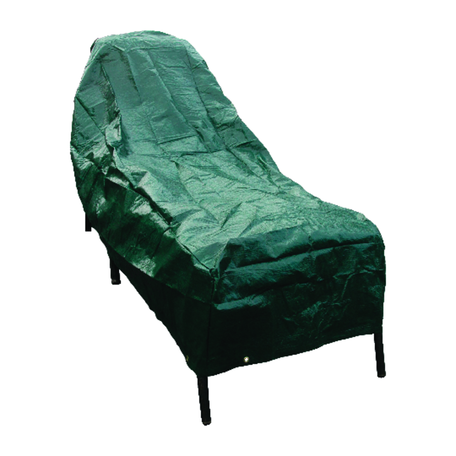 Budge  30 in. H x 80 in. W x 27 in. L Green  Polyethylene�  Chaise Lounge Cover