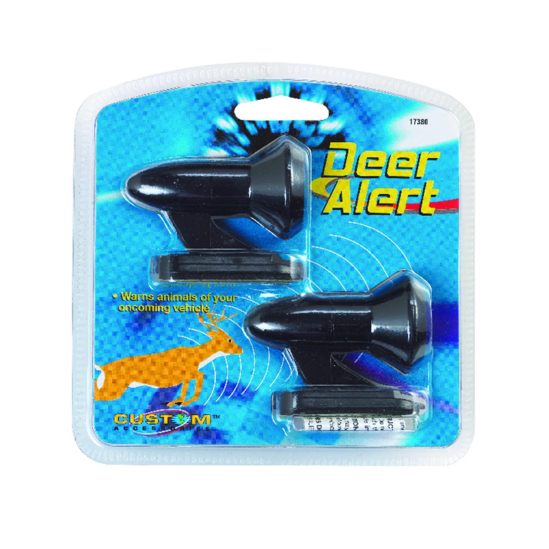 Custom Accessories Black Deer Warning Device 1 Pk Ace Hardware Warn The Heat In An Automobile