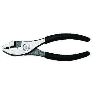Craftsman  6-3/4 in. Alloy Steel  Slip Joint Pliers  Black  1 pk