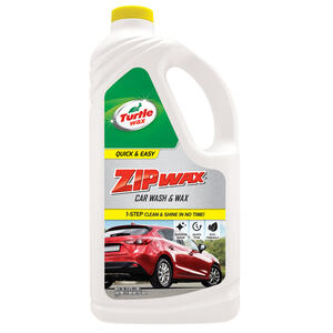 Turtle Wax Zip Wax Concentrated Liquid Car Wash Detergent 64 Oz