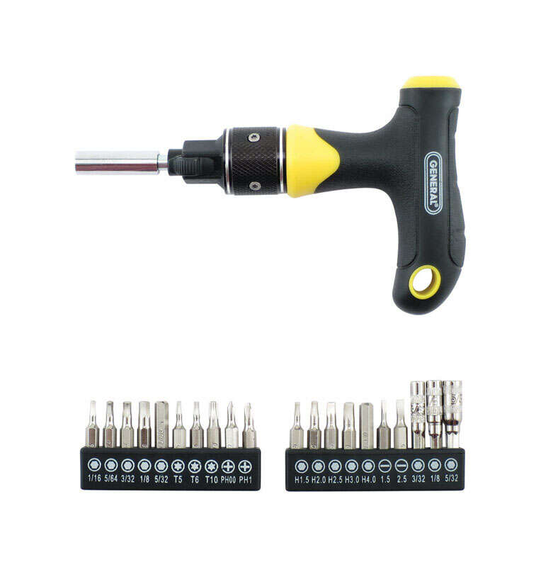 General Tools  21 pc. T-Handle Driver and Bit Set