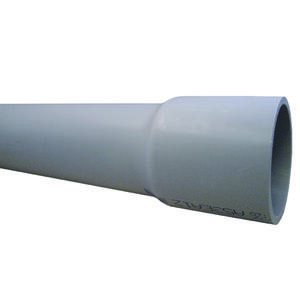 Cantex  2-1/2 in. Dia. x 10 ft. L PVC  Electrical Conduit  For Rigid