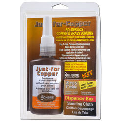 Highside Chemicals Just For Copper 5-3/8 in. L x 8-1/2 in. W Copper and Brass Bonding Kit 1 pc.