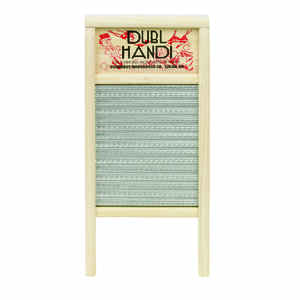 Dubl Handi  8-5/8 in. W x 18 in. L Metal Scrub Surface Washboard