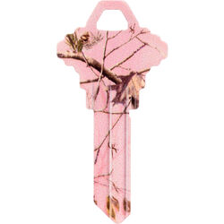 Hillman  RealTree  Pink  House/Office  Universal Key Blank  Single sided