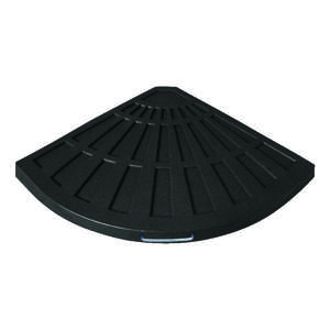 Bond Manufacturing  Black  25.98 in. W x 1.65 in. H x 25.98  L Envirostone  Umbrella Base