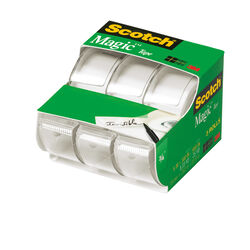 Scotch Magic 3/4 in. W x 300 in. L Tape Clear