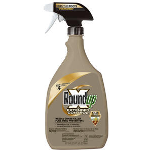 Roundup  Extended Control  Weed and Grass Killer  RTU Liquid  24 oz.