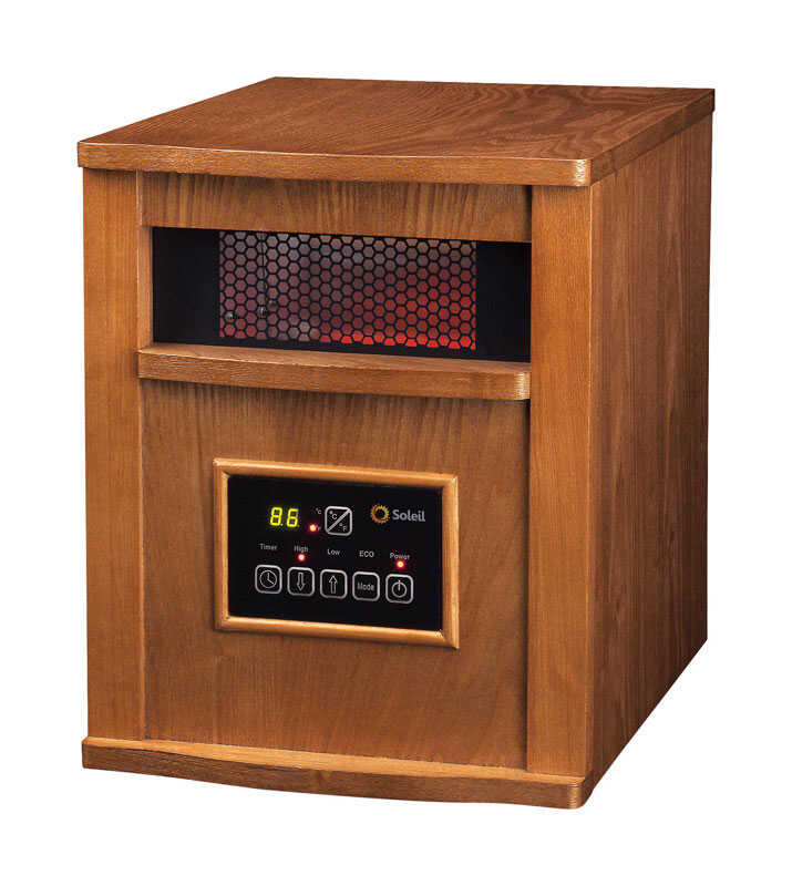 Soleil  1500 BTU/hr. 200 sq. ft. Infrared  Heater