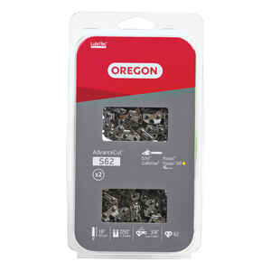 Oregon  Value Pack  18 in. 62 links Chainsaw Chain