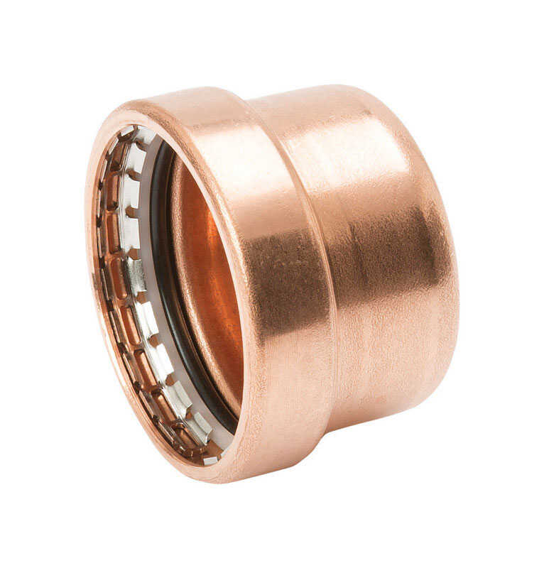 Mueller Streamline  Streamline  1/2 in. Press   Copper  Cap
