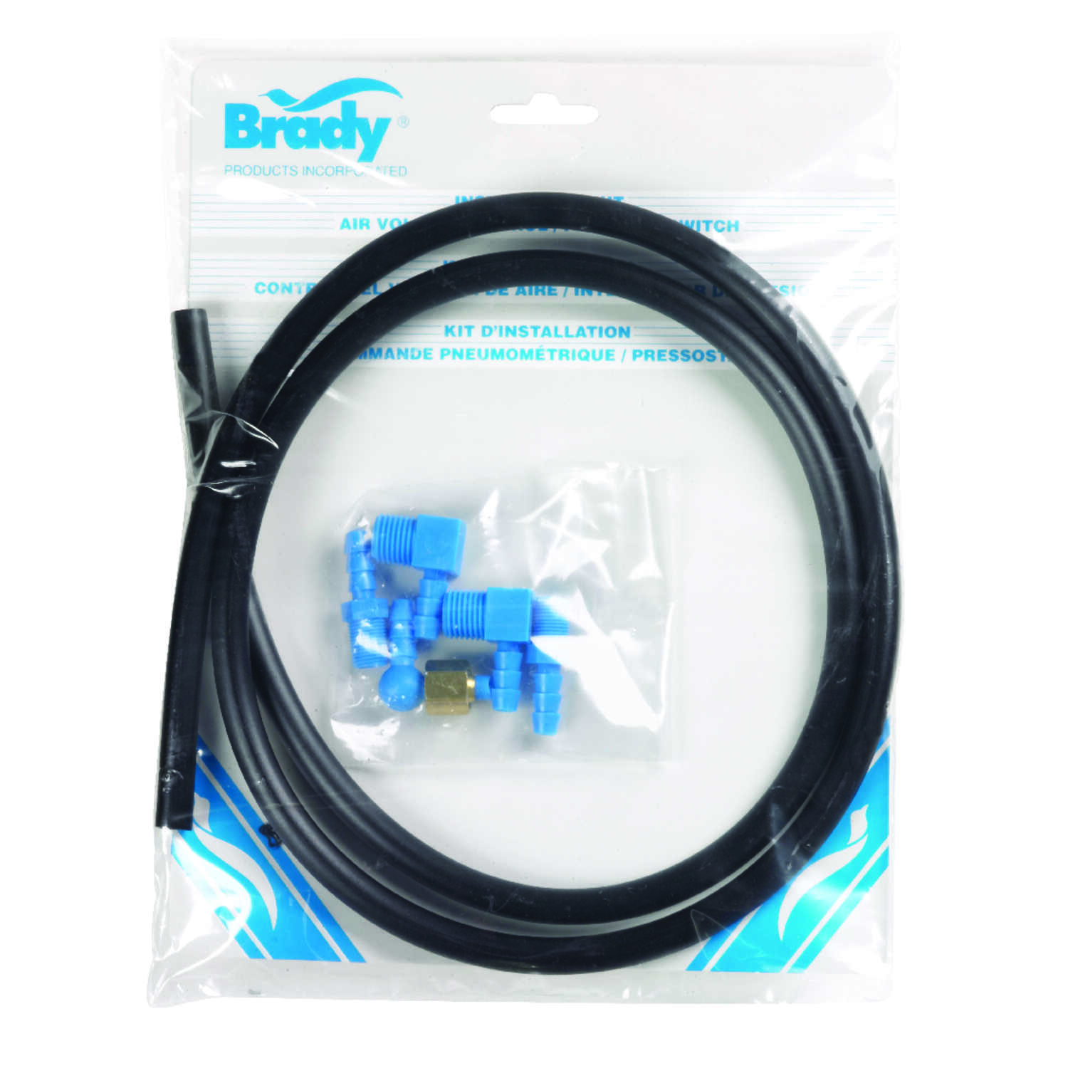 Brady  Polyethylene  Air Volume Control Installation Kit  1 in.  x 48 in. L