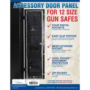 Liberty Safe  Black  Accessory Door Panel