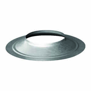 Duravent  3 in. Dia. 24 Ga. Galvanized Steel  Storm Collar