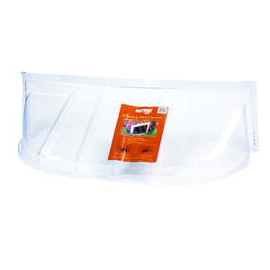 Maccourt  43 in. W x 14 in. D Type H  Plastic  Window Well Cover