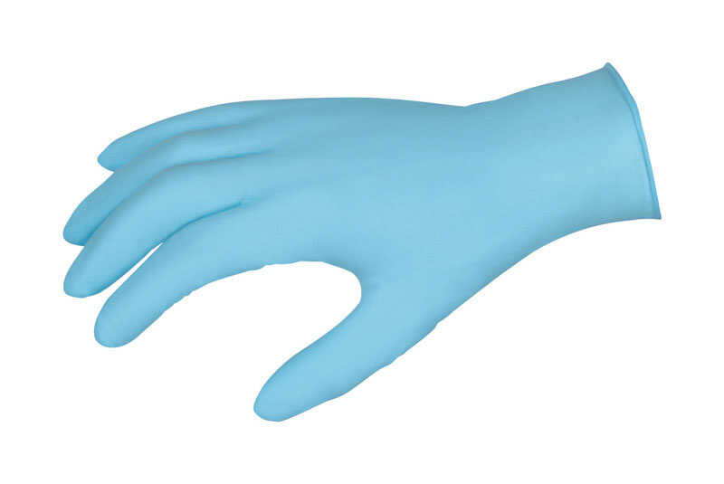 MCR Safety  Nitrile  Disposable Gloves  S  Blue  100 pk