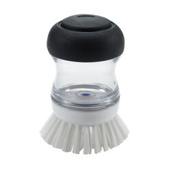 OXO  Good Grips  3 in. W Plastic/Rubber  Soap Dispenser Dish Brush