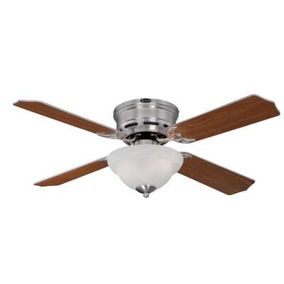 Westinghouse  Hadley  42 in. Brushed Nickel  Brown  Indoor  Ceiling Fan