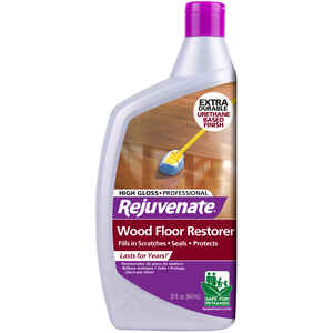 Rejuvenate  High Gloss  Polyurethane Floor Protector  Liquid  32 oz.