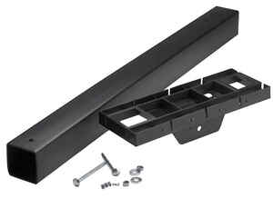 Gibraltar Mailboxes  41.3 in. H x 6.3 in. W x 17 in. D Polymer  Mailbox Post and Mounting Kit