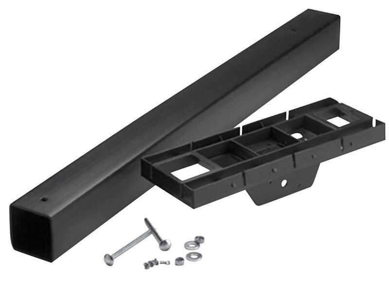 Gibraltar  41.3 in. H x 17 in. D x 6.3 in. W Polymer  Mailbox Post and Mounting Kit