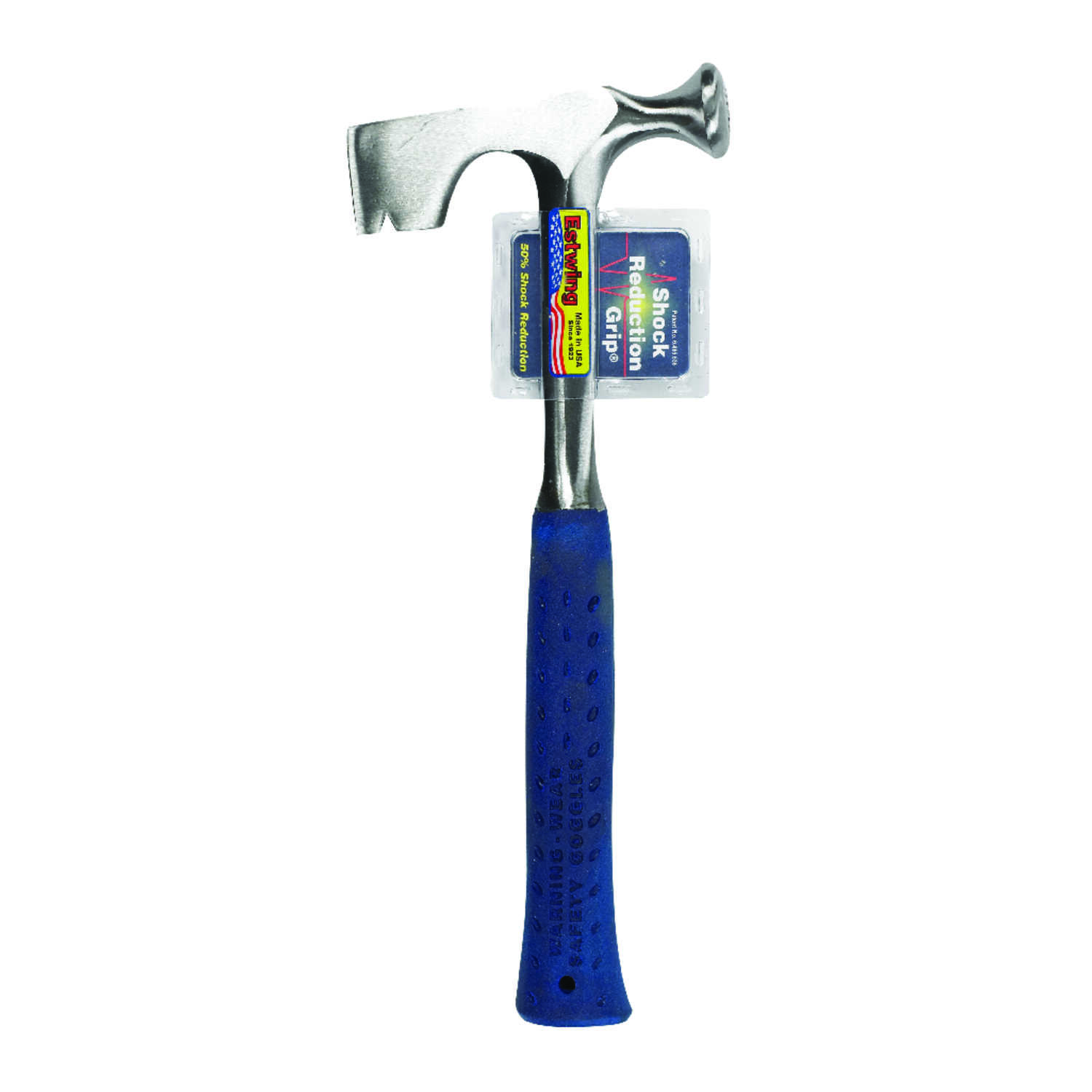 Estwing 11 oz. Hatchet Drywall Hammer Hatchet 14 in. Silver Forged ...