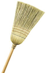 Ace  11 in. W Stiff  Broomcorn/Yucca  Broom
