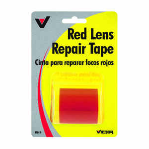 Victor  Halogen Sealed Beam  12 volts 1  Lens Repair Tape