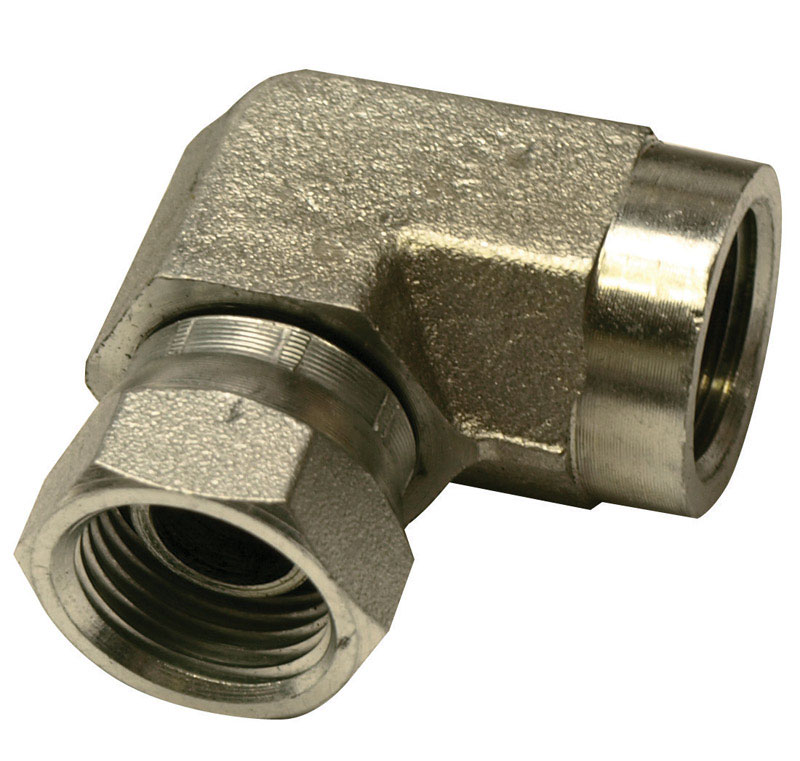 Universal  Steel  Hydraulic Adapter  3/8 in. Dia. x 3/8 in. Dia. 1