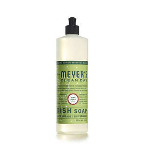 Mrs. Meyer's  Clean Day  Iowa Pine Scent Liquid  Dish Soap  16 oz. 1 pk