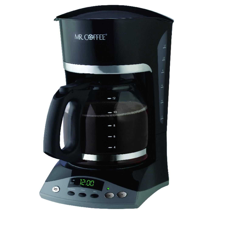 Mr Coffee Advanced Brew 12 Cups Coffee Maker Black Ace Hardware