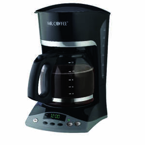 Mr. Coffee  Advanced Brew  12 cups Black  Coffee Maker