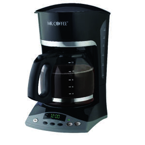 Mr. Coffee  Advanced Brew  12 cups Coffee Maker  Black