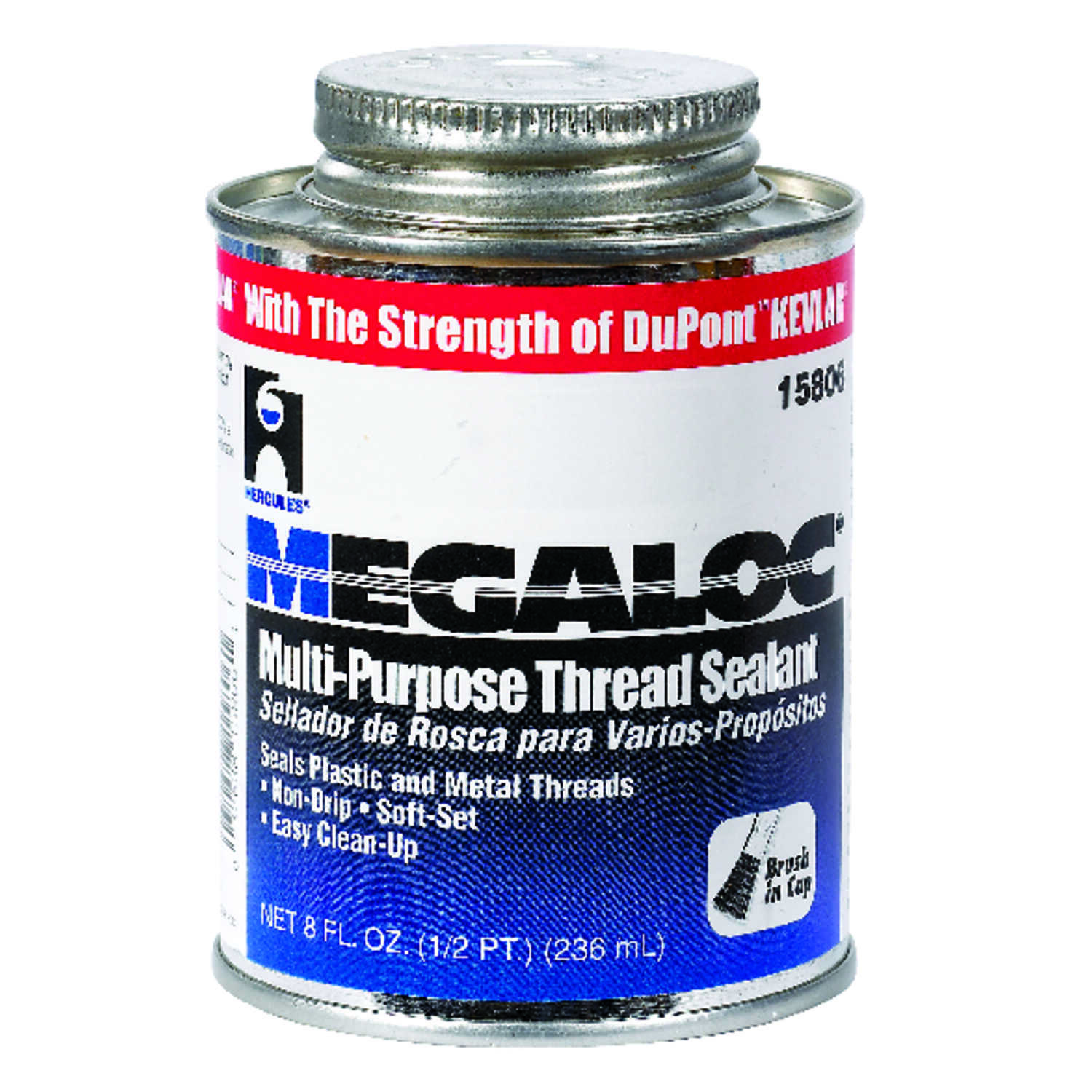 Megaloc Hercules  Blue  Pipe Thread Sealant  8 oz.
