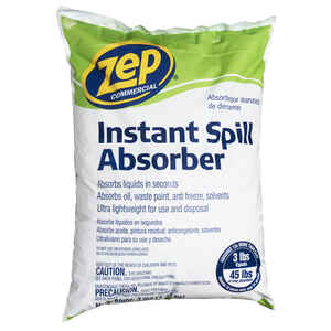 Zep  No Scent Instant Spill Absorber  Powder  3 lb.