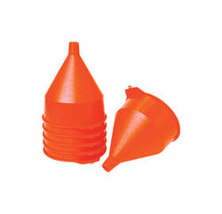 Little Giant Orange 10-1/2 in. H Plastic 192 oz. Funnel