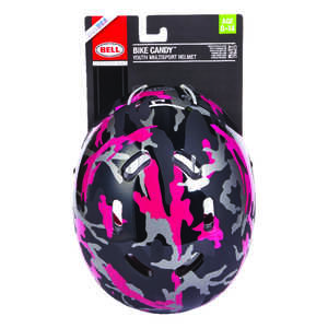 Bell Sports  Bike Candy  Black  Polycarbonate  Bicycle Helmet
