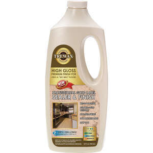 Trewax  Gold Label  High Gloss  Sealer Wax  32 oz.