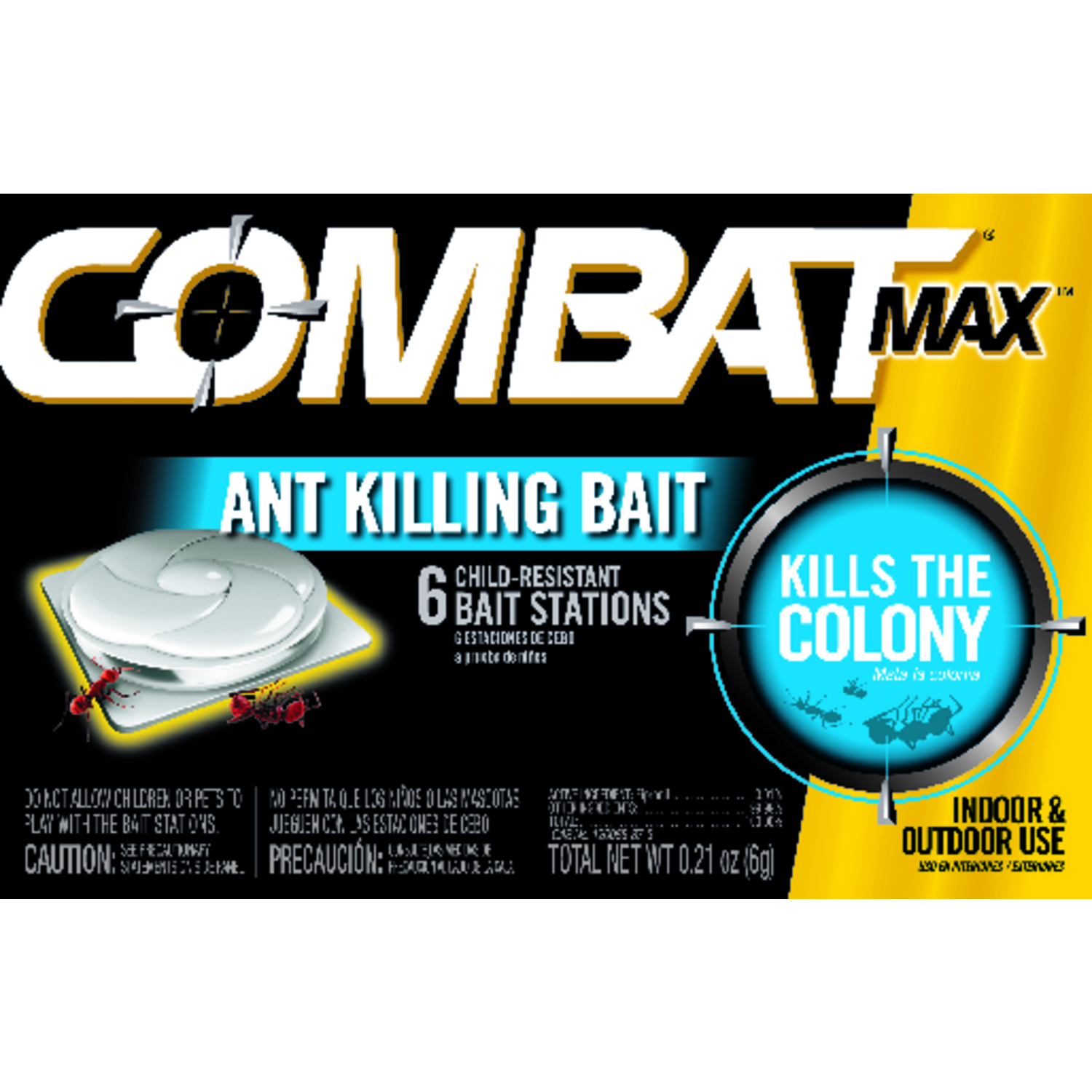 Combat  Max  Ant Killer  0.21 oz.