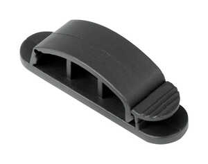 Gardner Bender  3 in. L Black  Plastic  Cable Management Clip