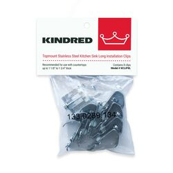 Kindred  Stainless Steel  Sink Clips