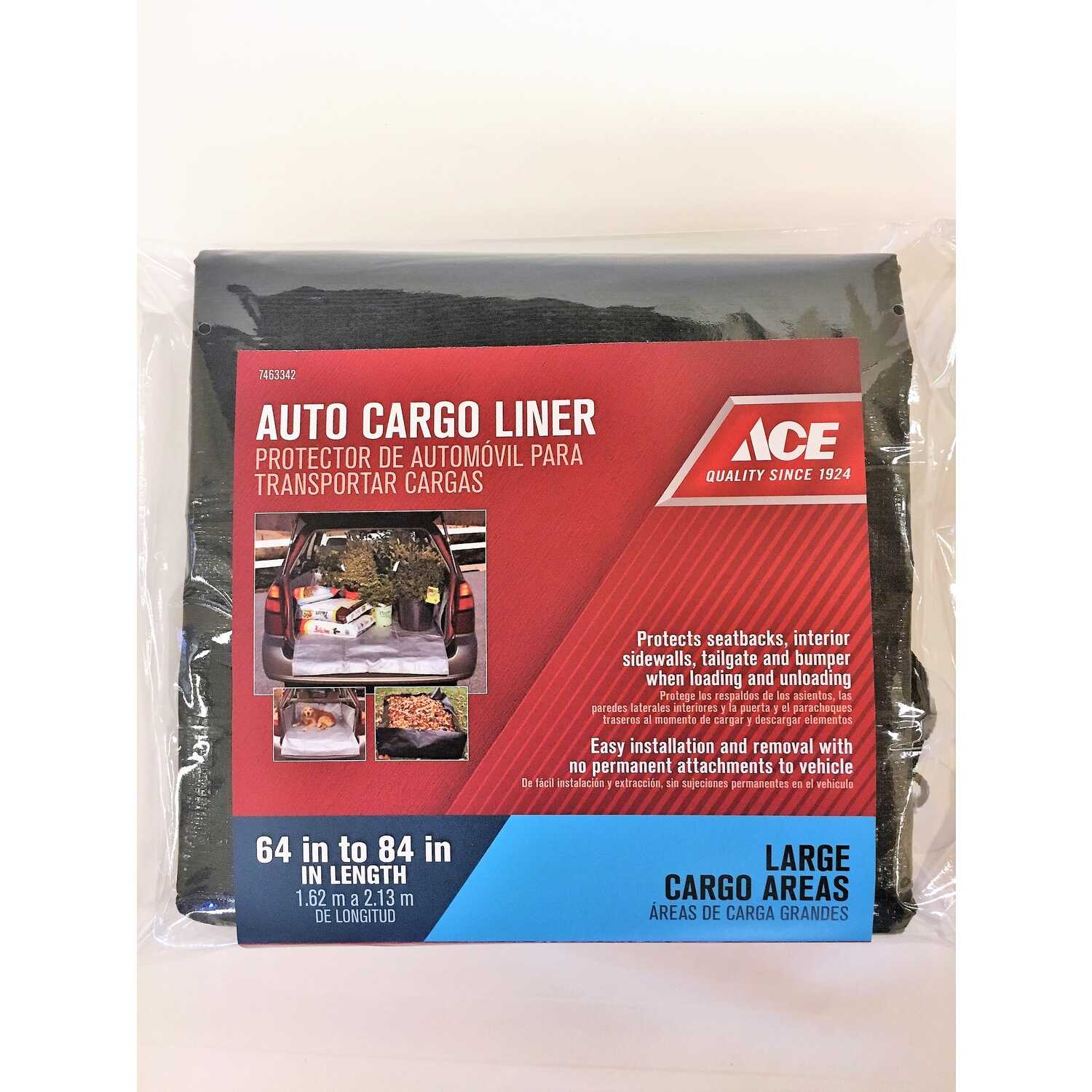 Ace  Heavy Duty  Polyethylene  Auto Cargo Liner  Black