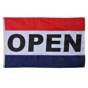 Valley Forge  Open  Flag  36 in. H x 60 in. W