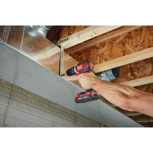 Milwaukee  M18  18 volt Brushed  Cordless Compact Drill/Driver  Kit  1/2 in. 1800 rpm