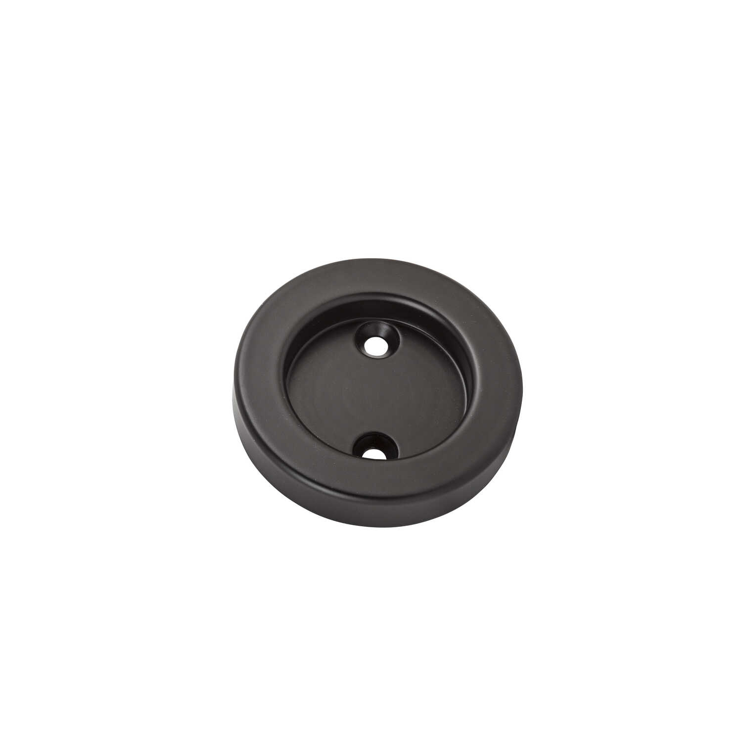 National Hardware  2-1/8 in. L Oil Rubbed Bronze  Brown  Steel  Door Pull