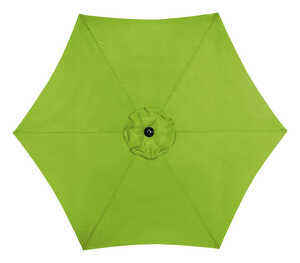 Living Accents  MARKET  9 ft. Tiltable Sage  Patio Umbrella