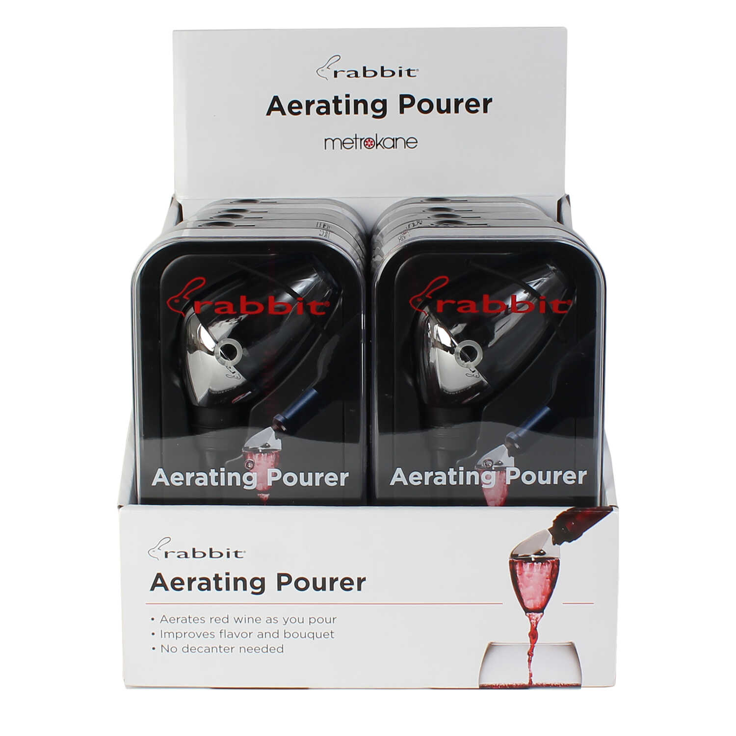 Rabbit  Aerating Wine Pourer  ABS