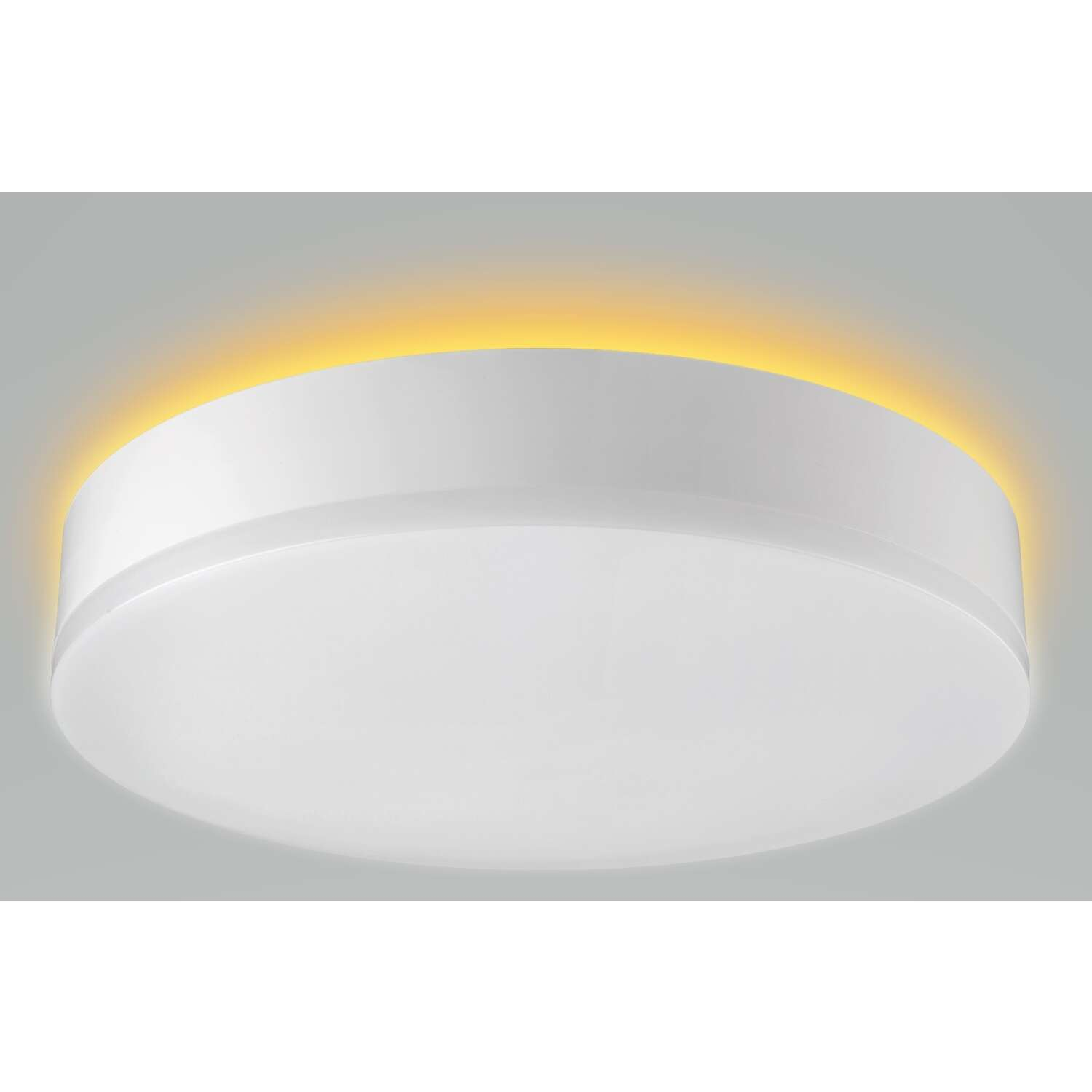 ETI  Color Preference  3.2 in. H x 11 in. W x 11 in. L White  LED Ceiling Light Fixture