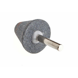 Forney  1-1/4 in. Dia. x 1-1/4 in. L Aluminum Oxide  Abrasive Mounted Point  Cone  38550 rpm 1 pc.